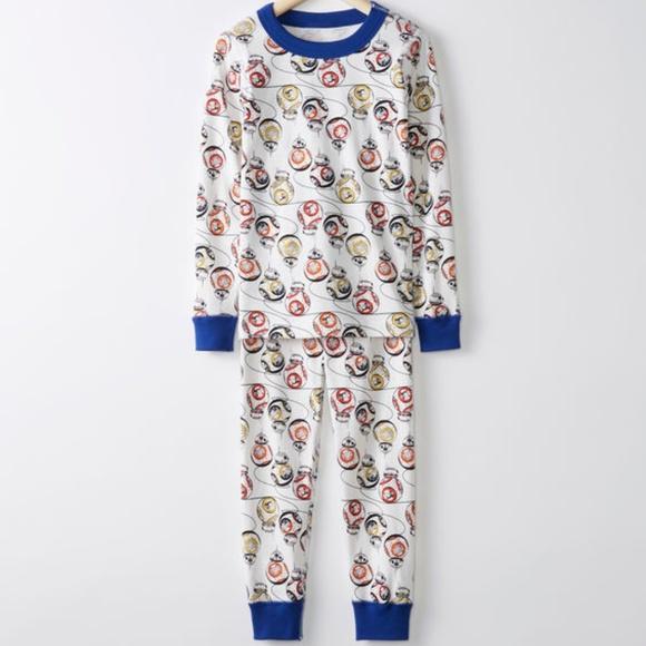 d3427c2d39 NWT Hanna Andersson Star Wars Pajamas Long John